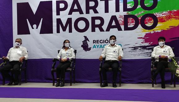 Militantes del Partido Morado emitieron un comunicado responsabilizando a la dirección nacional por la situación que enfrenta el país | Foto: Partido Morado / Imagen Referencial / Archivo