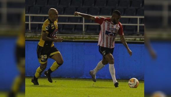 Junior de Barranquilla recibió a Coquimbo Unido por la ida de los cuartos de final de la Copa Sudamericana 2020 (Foto: @JuniorClubSA)