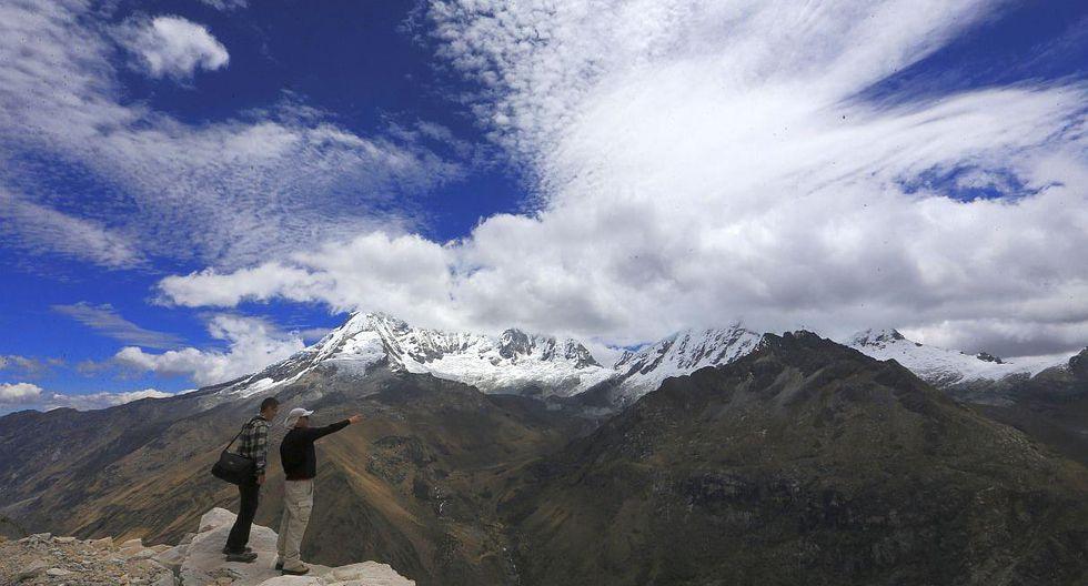 En los últimos 40 años, el Parque Nacional Huascarán ha perdido el 30% de superficie nevada. (Foto: El Comercio/Lino Chipana)