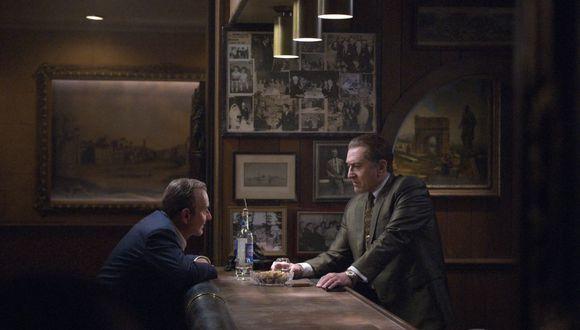 "Joe Pesci y Robert De Niro en ""The Irishman"". (Fuente: Netflix)"