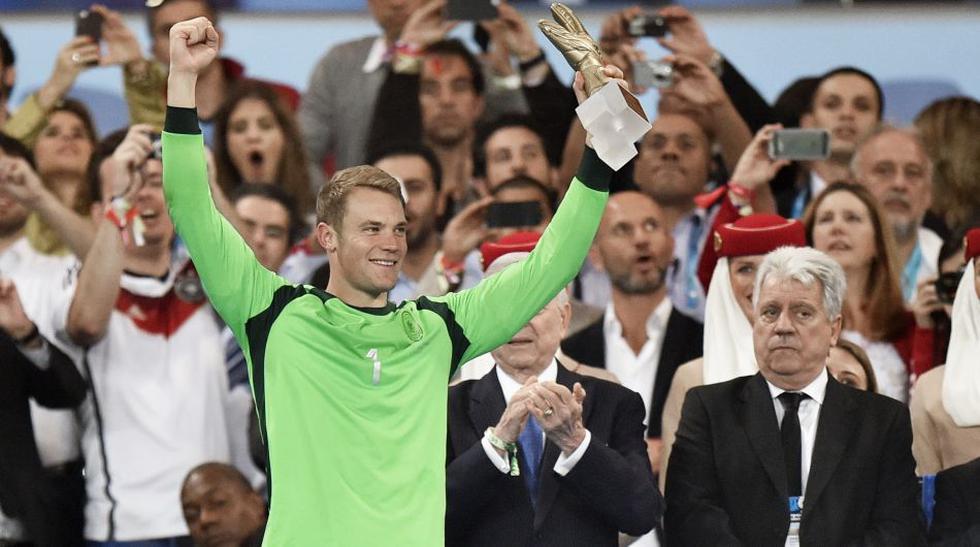Arquero: Manuel Neuer, Alemania: (9,33 puntos) (Foto: AP)
