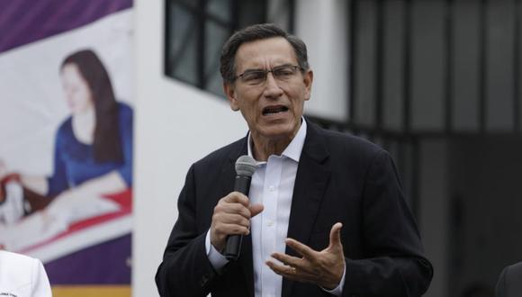 El presidente Martín Vizcarra  aseguró que las medidas aprobadas estimularían la economía en el último trimestre del año (Foto: Antonhy Niño de Guzmán/GEC)