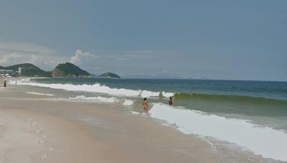 Usuario de Google Maps realizó una búsqueda en las playas de Copacabana y quedó sorprendido por un inesperado y aterrador detalle | Google Street View