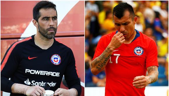 Referentes de la 'generación dorada' del fútbol chileno, como Gary Medel o Claudio Bravo, reclamaron al Gobierno escuchar al estallido social en el país. (AFP / Reuters)