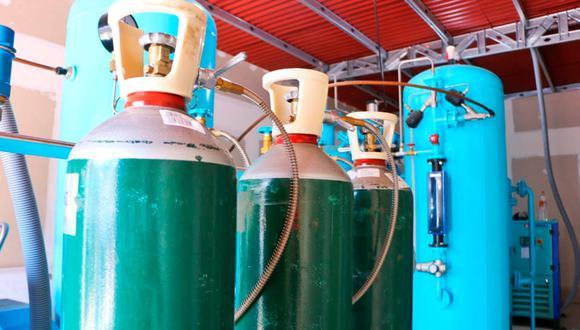 La planta de oxígeno fue instalada este mes en el hospital de Barranca para atender a pacientes COVID-19. (Foto: Facebook Noticias de Huaral)