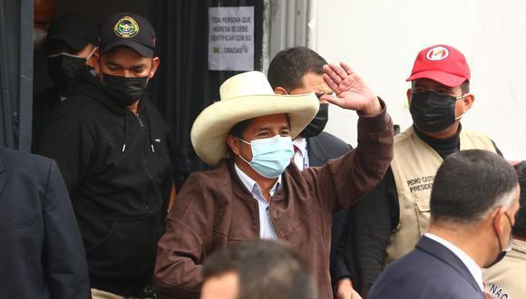 Pedro Castillo viajó a Cusco para participar en un evento de la ANGR. (Foto: GEC)