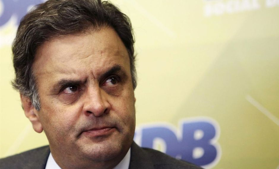 Brasil: Piden investigar a opositor Aecio Neves por corrupción