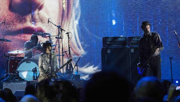 Nirvana tocó con Joan Jett y Lorde en Salón de la Fama del Rock