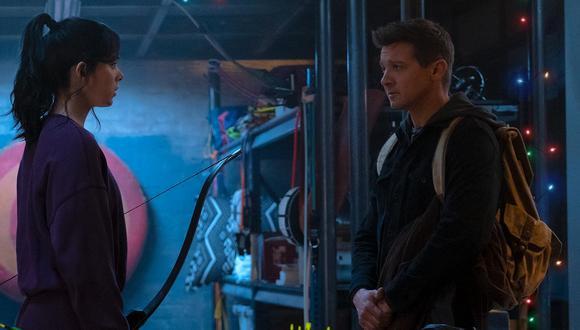 """Primera imagen de """"Hawkeye"""" con Hailee Steinfeld y Jeremy Rener. (Foto: Marvel)"""