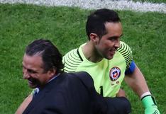 Chile vs. Portugal: los elogios de Pizzi a Claudio Bravo tras vencer a Portugal