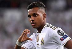 Con triplete de Rodrygo, Real Madrid goleó 6-0 a Galatasaray por la Champions League