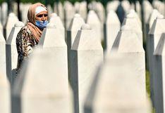 25 años de Srebrenica: Dolor y mensajes de reconciliación al recordar a las víctimas del genocidio | FOTOS