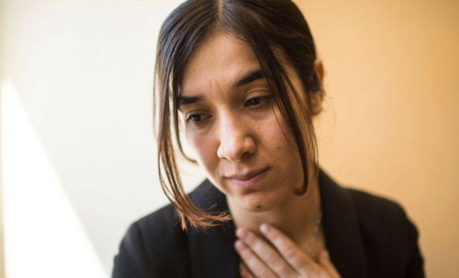 """Nadia Murad estuvo secuestrada por combatientes de Estado Islámico durante tres meses, en los que sufrió situaciones """"inimaginables""""."""