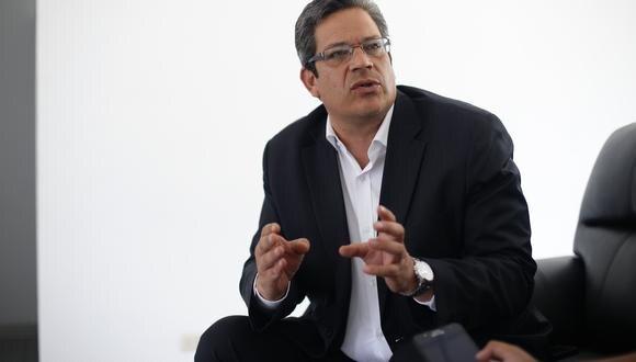 Gustavo San Martín fue designado el último jueves como presidente del IPD. (Foto: Jesús Saucedo)