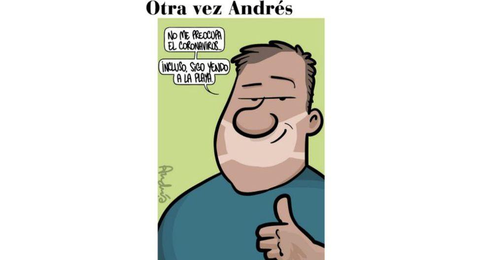 El Coronavirus, por Andrés Edery.