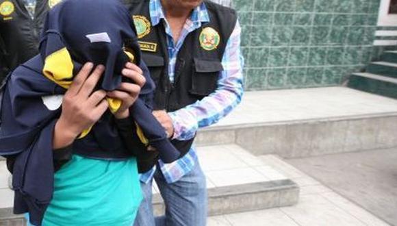 Escolar de 14 años extorsionaba a su propio colegio en Trujillo