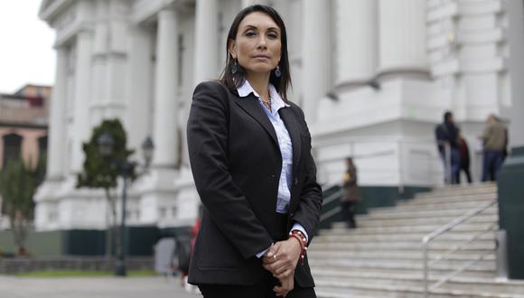 Patricia Donayre, flamante ministra de Desarrollo e Inclusión Social, fue elegida congresista por Fuerza Popular en el 2016. Renunció a la bancada meses después. (Foto: GEC)