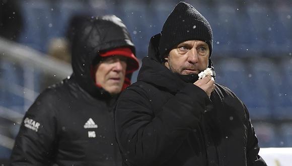 Hansi Flick se refirió al complicado presente que vive el Bayern Múnich | Foto: AP