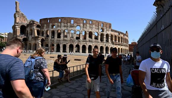 Coronavirus en Italia | Últimas noticias | Último minuto: reporte de infectados y muertos hoy, sábado 22 de agosto del 2020 | Covid-19 | (Foto: Vincenzo PINTO / AFP).