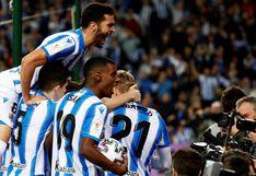 Real Sociedad venció por 2-1 al Mirandés en la ida de la semifinal de la Copa del Rey