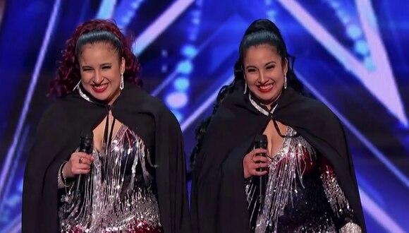 """Las peruanas Andrea e Irene Ramos se presentaron como el dueto """"Double Dragon"""" y sorprendieron al exigente jurado del programa de talentos, emitido por la cadena NBC. (Fotos: America's Got Talent en Facebook)"""
