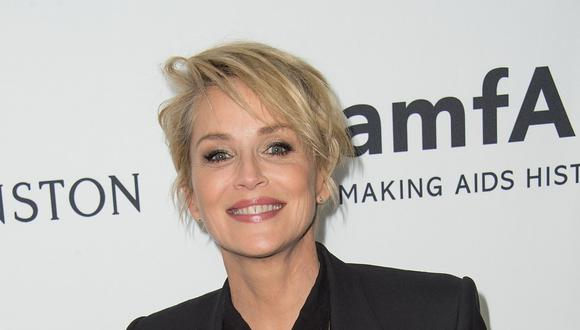 Sharon Stone envía mensaje de aliento a la Cruz Roja italiana. (Foto: AFP)