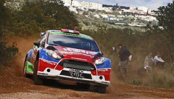 Nicolás Fuchs fue segundo en el shakedown del Rally Portugal