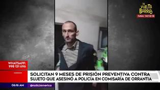Solicitan 9 meses de prisión preventiva contra sujeto que asesinó a policía