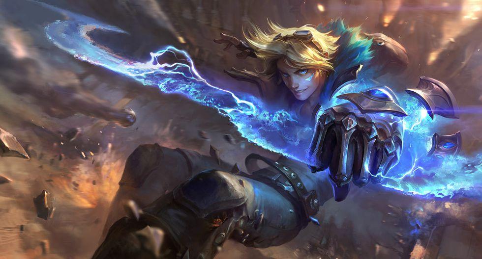 Ezreal es un poderoso arquero que se desempeña como Tirador en League of Legends. (Imagen: Riot Games)