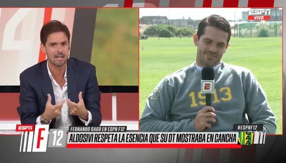 """Fernando Gago, identificado con Boca Juniors: """"Nunca dirigiría a River Plate"""""""