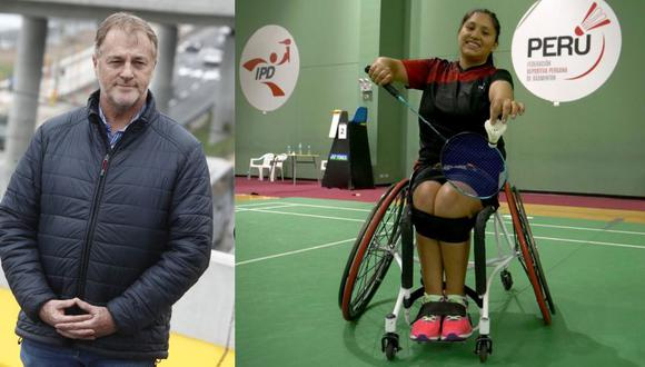 "Alcalde de Lima acepto reto ""Ponte en mi lugar"" de deportista peruana Pilar Jáuregui (César Campos / Andina)"