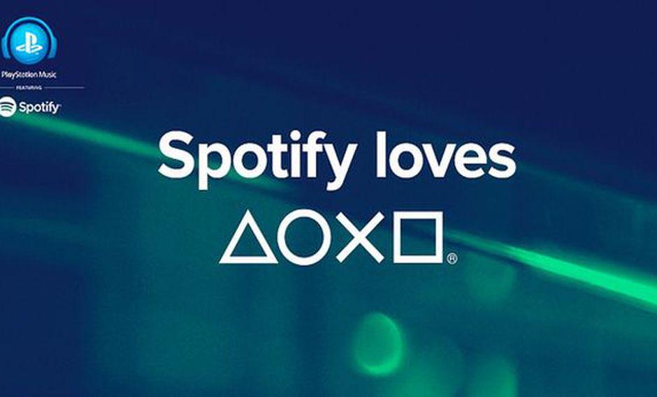 Spotify se integra a las consolas de Sony con PlayStation Music