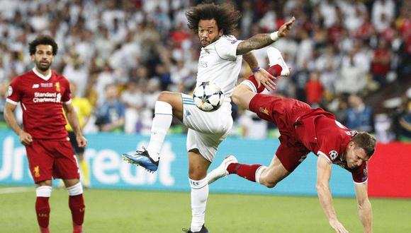Real Madrid y Liverpool se medirán en los cuartos de final de la Champions League. (Foto: EFE)