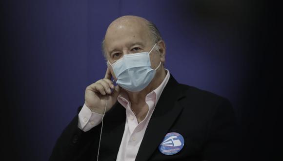 Hernando de Soto no había informado sobre su decisión de vacunarse. El miércoles, luego de especulaciones por sus movimientos migratorios, finalmente confirmó que había accedido a las dosis contra el COVID-19 en Estados Unidos. (Foto: GEC)