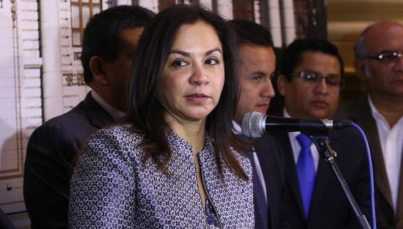 """""""Esperamos que las propuestas que hicimos sean escuchadas"""", afirmó Marisol Espinoza. (Foto: Archivo El Comercio)"""