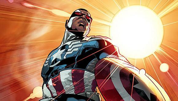 Marvel anuncia que el nuevo Capitán América será de raza negra