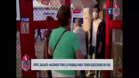 """Francisco Chagasti: """"We must all accept the outcome of our country's democratic career as expressed in the ballot box"""""""