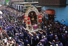 Así se desarrolla segundo recorrido de la imagen del Señor de los Milagros en Lima [EN VIVO]