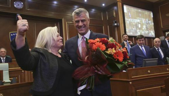 Hashim Thaci, el ex guerrillero elegido presidente de Kosovo