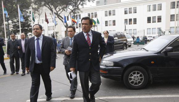 Velásquez formó parte de la bancada del Apra como representante por Lambayeque. (Foto: GEC)