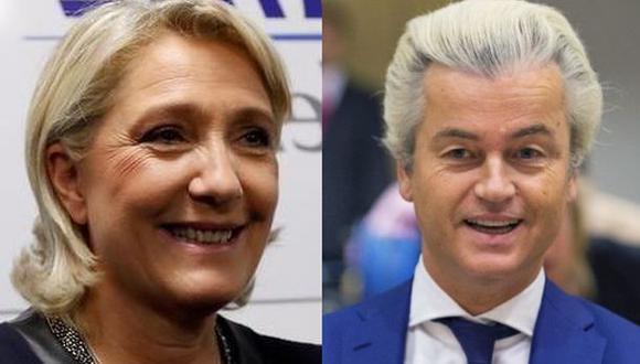 """Le Pen apoya a su """"amigo"""" Geert Wilders, el Trump holandés"""