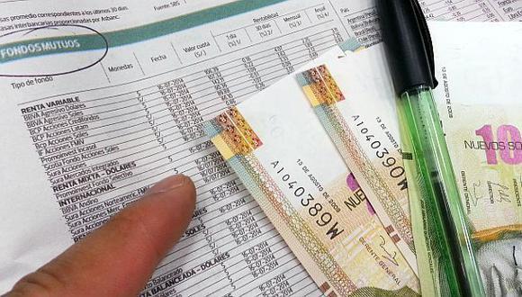 Fondos mutuos se encuentran en fase expansiva en el país (Foto: El Comercio)