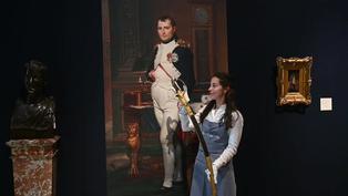 Subastan una carta y objetos personales de Napoleón Bonaparte en Londres