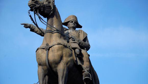 Estatua de Napoleón Bonaparte del artista Charles-Pierre-Victor Pajol (1812-1896). REUTERS