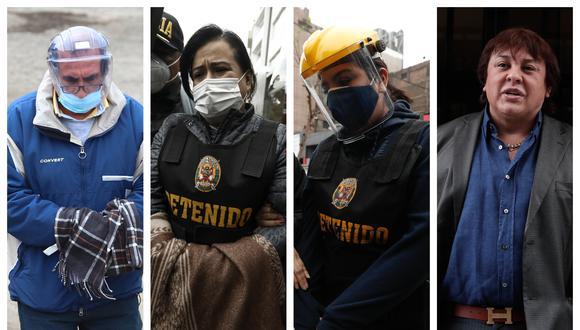 Poder Judicial dispuso el viernes pasado la detención de diez personas por el caso Richard Swing (Fotos: Hugo Curotto, Joel Alonzo, Leandro Britto y Ángela Ponce / Grupo El Comercio)