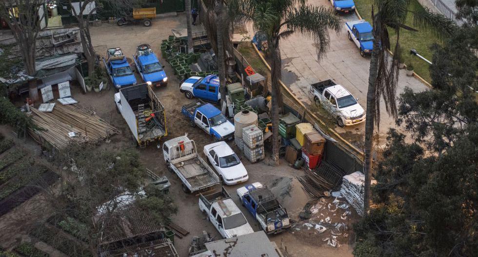 Los vecinos reclaman que unos 3 mil metros cuadrados se emplean para el acopio de desmonte, como cocheras para vehículos y almacén del municipio desde hace al menos ocho años. (Foto: Omar Lucas/Exclusivo para El Comercio)