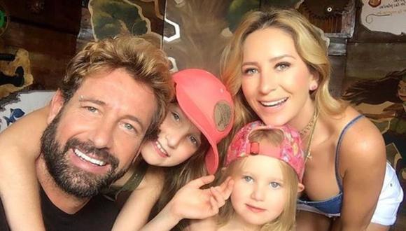 Última foto de un viaje familiar que compartieron los actores a través de las redes sociales . (Foto: Instagram Gabriel Soto)