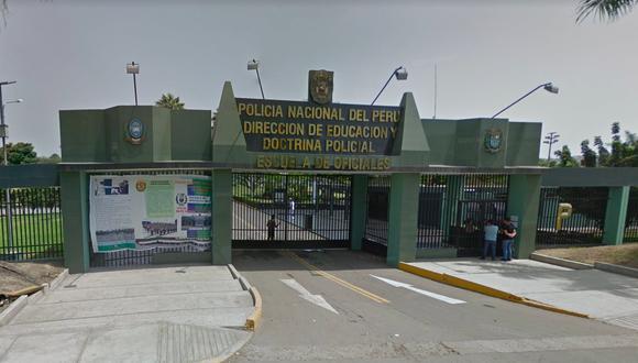 Allanamiento de la sede escuela policial comenzó poco después de las 4 de la madrugada. (Foto: captura de Google)