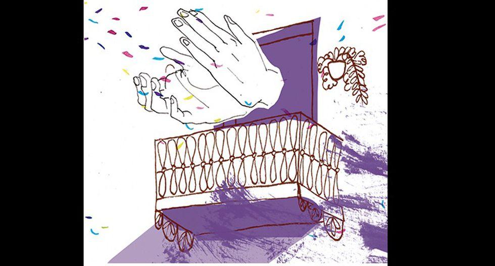 """""""Por estos días el balcón se improvisa como escenario de músicos aficionados"""". (Ilustración: Nadia Santos)"""
