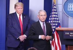 """Trump llama """"idiota"""" al doctor Fauci, principal epidemiólogo de Estados Unidos, y amenaza con despedirle"""